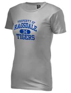 Ragsdale High School Tigers Alternative Women's Basic Crew T-Shirt