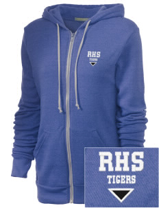 Ragsdale High School Tigers Embroidered Alternative Unisex The Rocky Eco-Fleece Hooded Sweatshirt