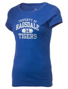 Ragsdale High School Tigers Holloway Women's Groove T-Shirt