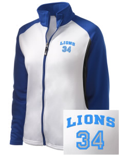 Donna Lee Loflin Elementary School Lions Embroidered Holloway Women's Reaction Tri-Color Jacket