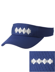 Lacy Elementary School Lions Embroidered Woven Cotton Visor