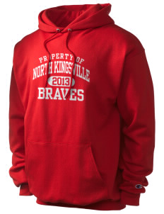 North Kingsville Elementary School Braves Champion Men's Hooded Sweatshirt