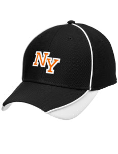 Nelsonville York Elementary School Buckeyes Embroidered New Era Contrast Piped Performance Cap
