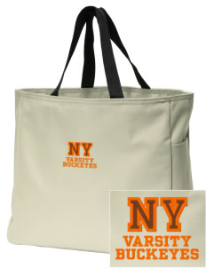 Nelsonville York Elementary School Buckeyes Embroidered Essential Tote