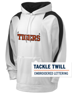 Jefferson Avenue Elementary School Tigers Holloway Men's Sports Fleece Hooded Sweatshirt with Tackle Twill
