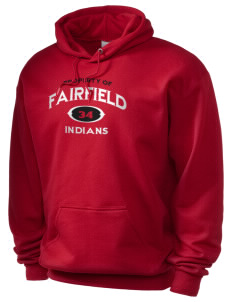 Fairfield High School Indians Holloway Men's 50/50 Hooded Sweatshirt