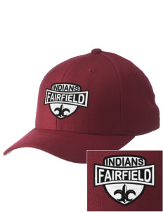 Fairfield High School Indians Embroidered Pro Model Fitted Cap