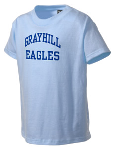 Grayhill Elementary School Eagles Kid's T-Shirt
