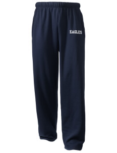 Grayhill Elementary School Eagles  Holloway Arena Open Bottom Sweatpants