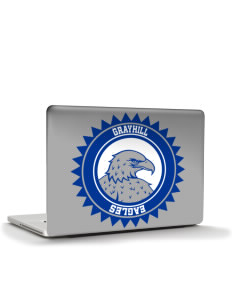 "Grayhill Elementary School Eagles Apple MacBook Pro 17"" & PowerBook 17"" Skin"