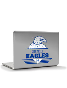 "Grayhill Elementary School Eagles Apple MacBook Air 13"" Skin"