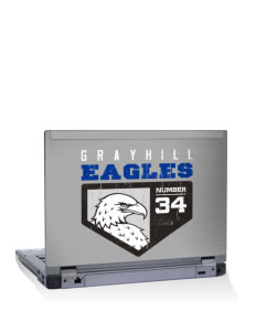 "Grayhill Elementary School Eagles 15"" Laptop Skin"