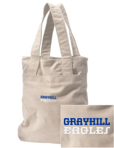 Grayhill Elementary School Eagles Embroidered Alternative The Berkeley Tote