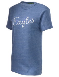 Grayhill Elementary School Eagles Embroidered Alternative Unisex Eco Heather T-Shirt