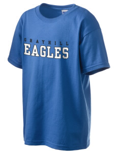 Grayhill Elementary School Eagles Kid's 6.1 oz Ultra Cotton T-Shirt