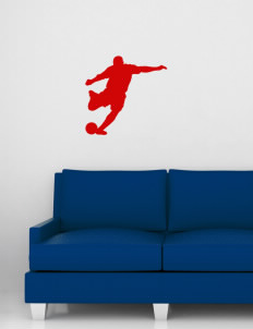 "Monticello Middle School Cardinals Wall Silhouette Decal 20"" x 24"""