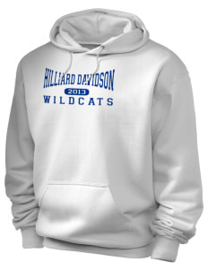 Hilliard Davidson High School Wildcats Holloway Men's 50/50 Hooded Sweatshirt