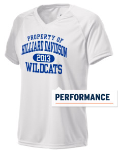 Hilliard Davidson High School Wildcats Holloway Women's Zoom Performance T-Shirt