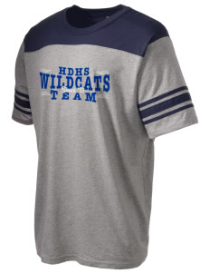 Hilliard Davidson High School Wildcats Holloway Men's Champ T-Shirt