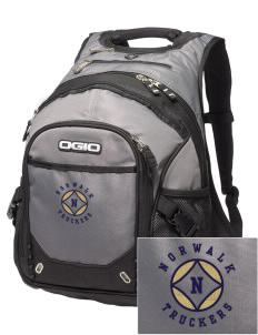 Norwalk High School Truckers Embroidered OGIO Fugitive Backpack