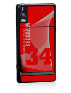 Ellisville Elementary School Warriors Motorola Droid 2 Skin