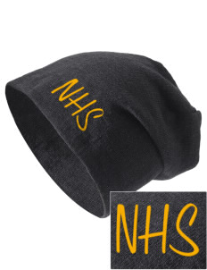 Northview High School Wildcats Embroidered Slouch Beanie
