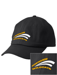 Northview High School Wildcats Embroidered Champion 6-Panel Cap