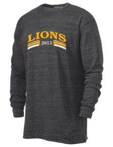 Leverette Junior High School Lions Alternative Men's 4.4 oz. Long-Sleeve T-Shirt