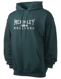 McKinley Elementary School Bulldogs Men's 7.8 oz Lightweight Hooded Sweatshirt