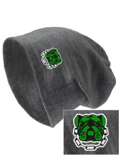 McKinley Elementary School Bulldogs Embroidered Slouch Beanie