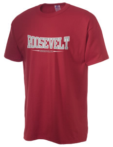 Roosevelt Junior High School Roosevelts  Russell Men's NuBlend T-Shirt