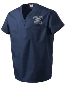 Roosevelt Junior High School Roosevelts V-Neck Scrub Top