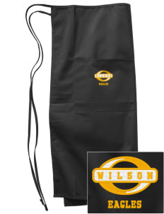 Wilson Elementary School Eagles Embroidered Full Bistro Bib Apron