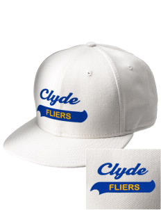 Clyde High School Fliers  Embroidered New Era Flat Bill Snapback Cap