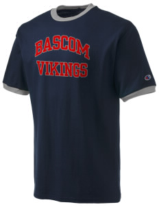 Bascom Elementary School Vikings Champion Men's Ringer T-Shirt
