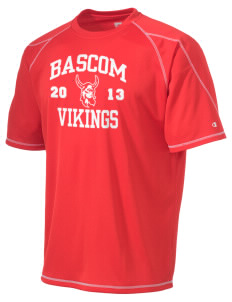 Bascom Elementary School Vikings Champion Men's 4.1 oz Double Dry Odor Resistance T-Shirt