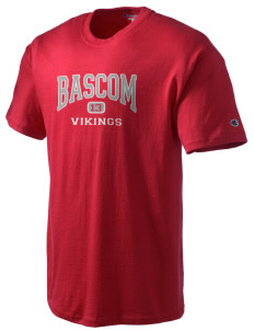 Bascom Elementary School Vikings Champion Men's Tagless T-Shirt