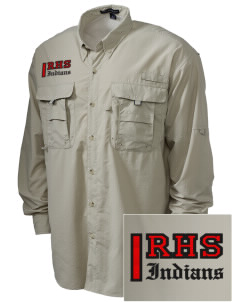 Rittman High School Indians Embroidered Men's Explorer Shirt with Pockets