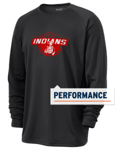 Rittman High School Indians Men's Ultimate Performance Long Sleeve T-Shirt