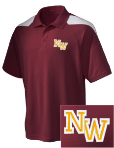 Northwest 6th Grade Center Wildcats Embroidered Holloway Men's Frequency Performance Pique Polo