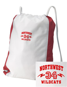 Northwest 6th Grade Center Wildcats Embroidered Holloway Home and Away Cinch Bag