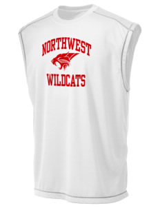 Northwest 6th Grade Center Wildcats Champion Men's 4.1 oz Double Dry Odor Resistance Muscle T-Shirt