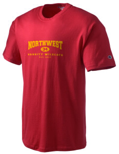 Northwest 6th Grade Center Wildcats Champion Men's Tagless T-Shirt