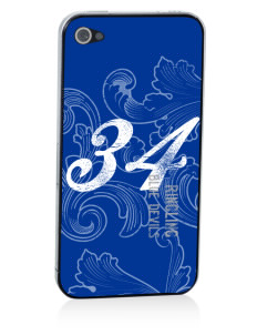 Ringling Elementary School Blue Devils Apple iPhone 4/4S Skin