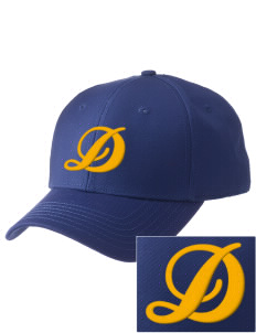 Dibble Senior High School Demons  Embroidered New Era Adjustable Structured Cap