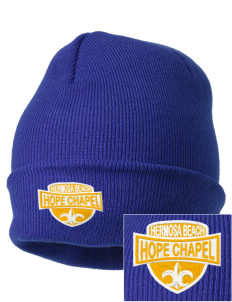 Hope Chapel Academy Hermosa Beach Embroidered Knit Cap