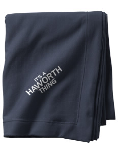Haworth High School Lions  Sweatshirt Blanket