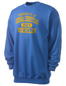 Sierra Christian School Rocklin Men's 7.8 oz Lightweight Crewneck Sweatshirt