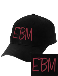 Edna Bigham Mays Elementary School Trojans Embroidered Low-Profile Cap