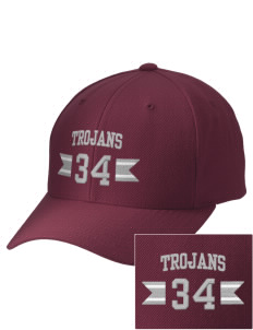 Edna Bigham Mays Elementary School Trojans Embroidered Wool Adjustable Cap